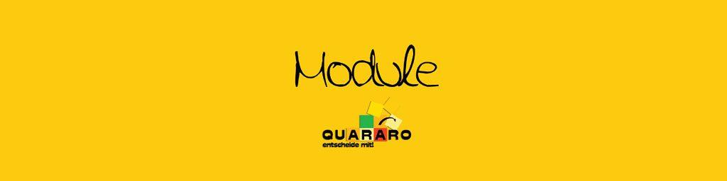 QUARARO Module zum Download finden Sie hier